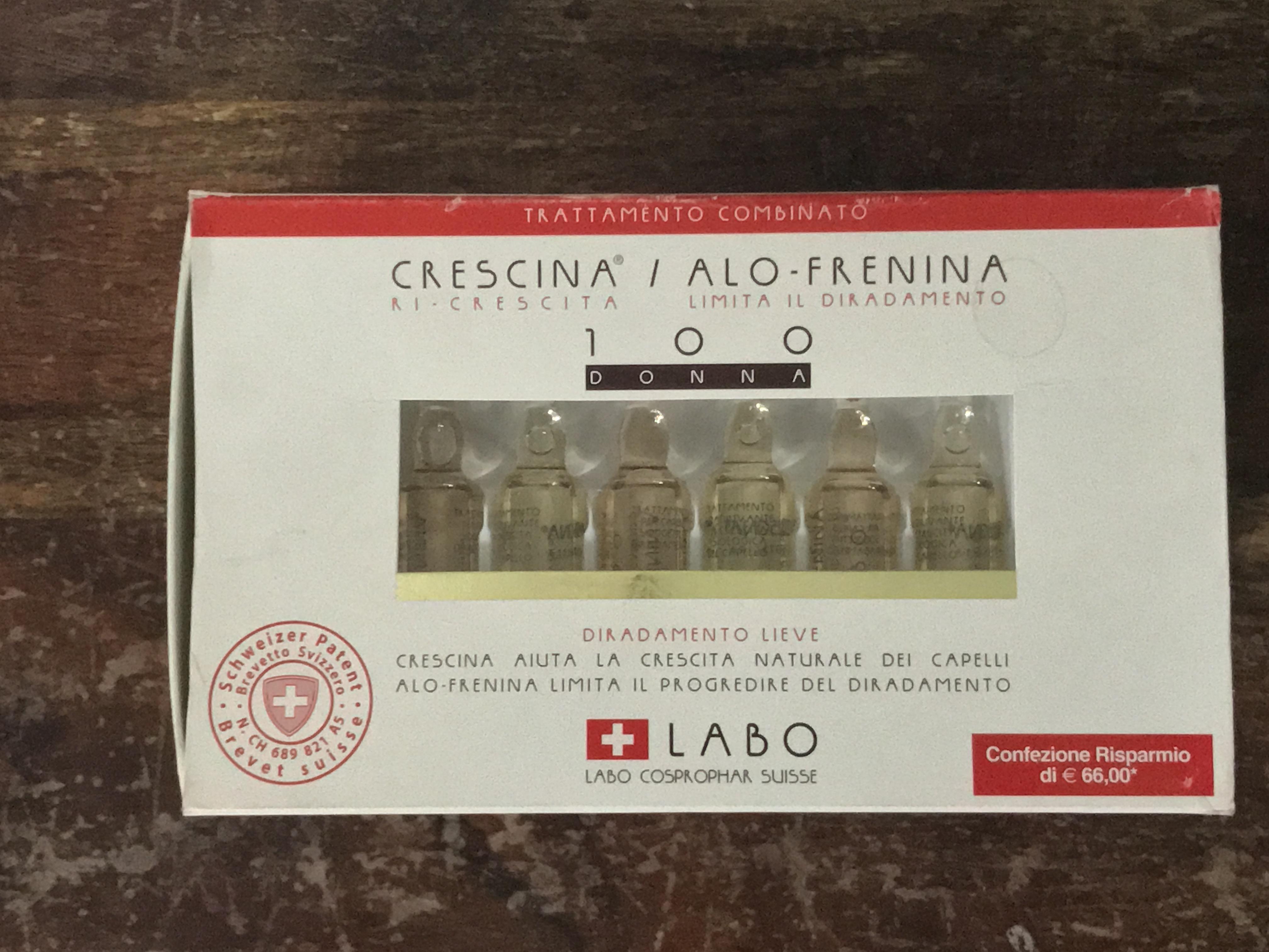 LABO- CRESCINA RI-CRESCITA DIRADAMENTO LIEVE  100 DONNA 36PZ
