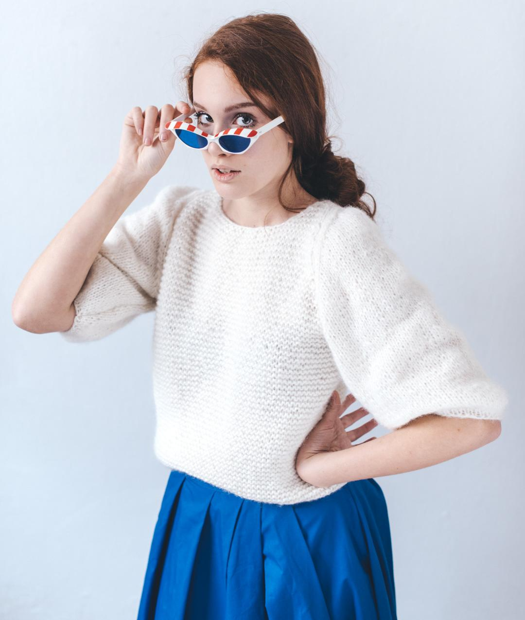 Sweaters and Tops - Wool - Cloudy Jumper - 1