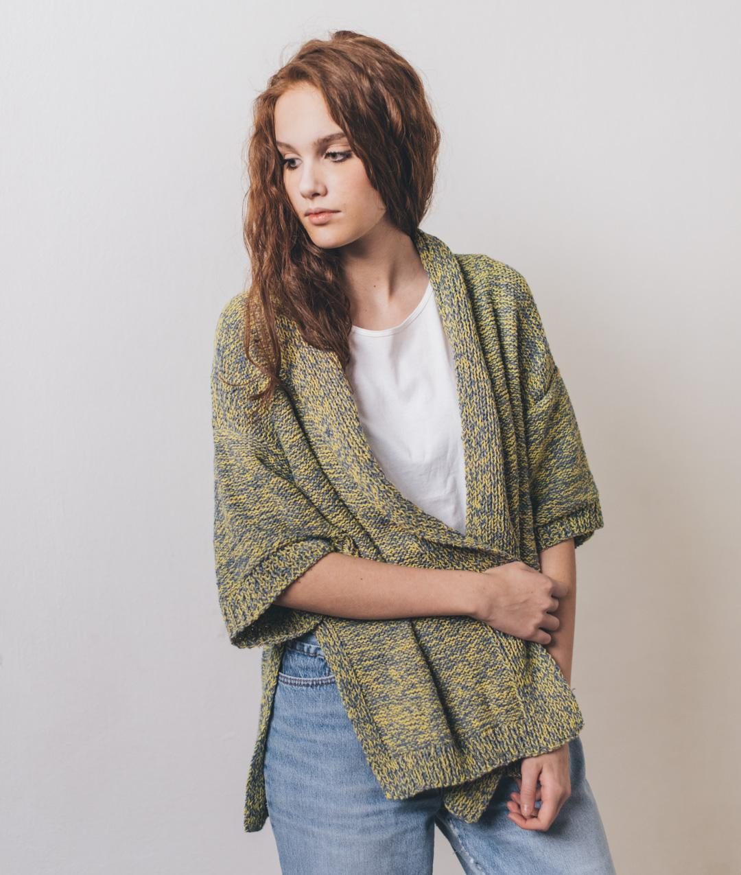 Cardigans and Vests  - Cotton - Greta Cardigan - 1
