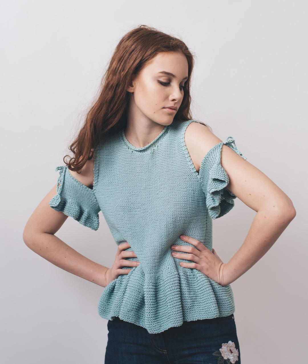 Sweaters and Tops - Cotton - AMALFI TOP - 1
