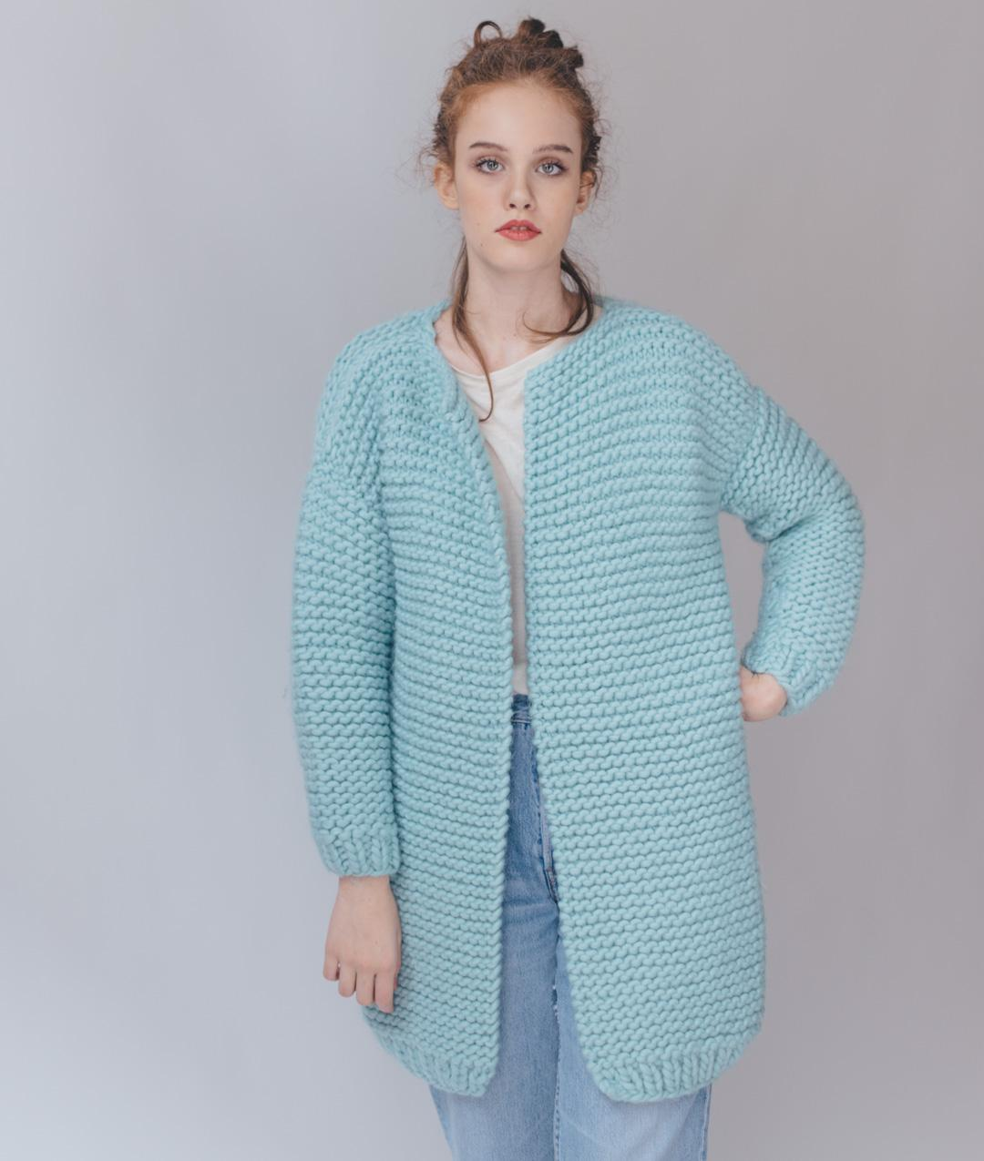 Cardigans and Vests  - Wool - Cindy Cardigan  - 1
