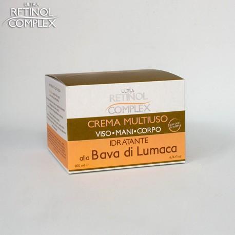 RETINOL COMPLEX - CREMA MULTIUSO ALLA BAVA DI LUMACA 200ML