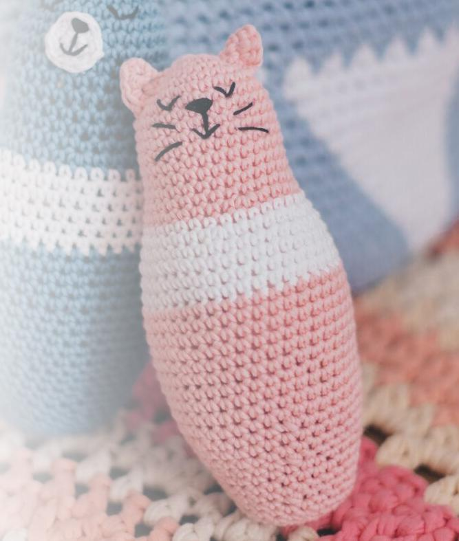 Collezione Home Decor Baby - Casa - KITTY AMIGURUMI - 1