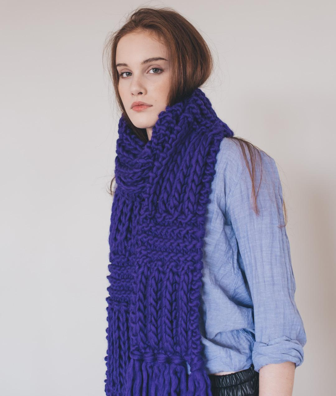 Scarves and Snoods - Wool - ALEXA SCARF - 1