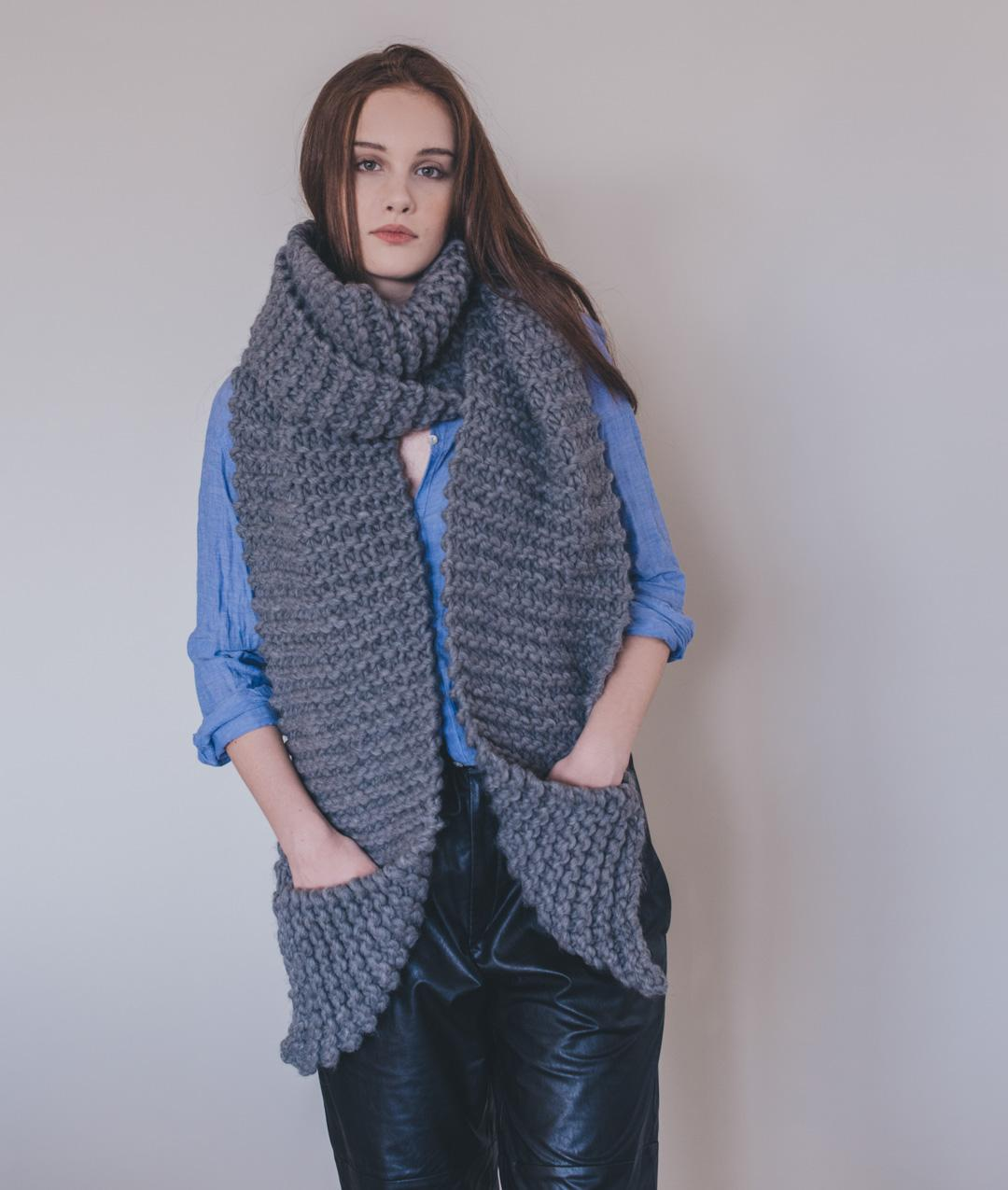 Patterns - Needles & Co. - Aileen Scarf Pattern - 1