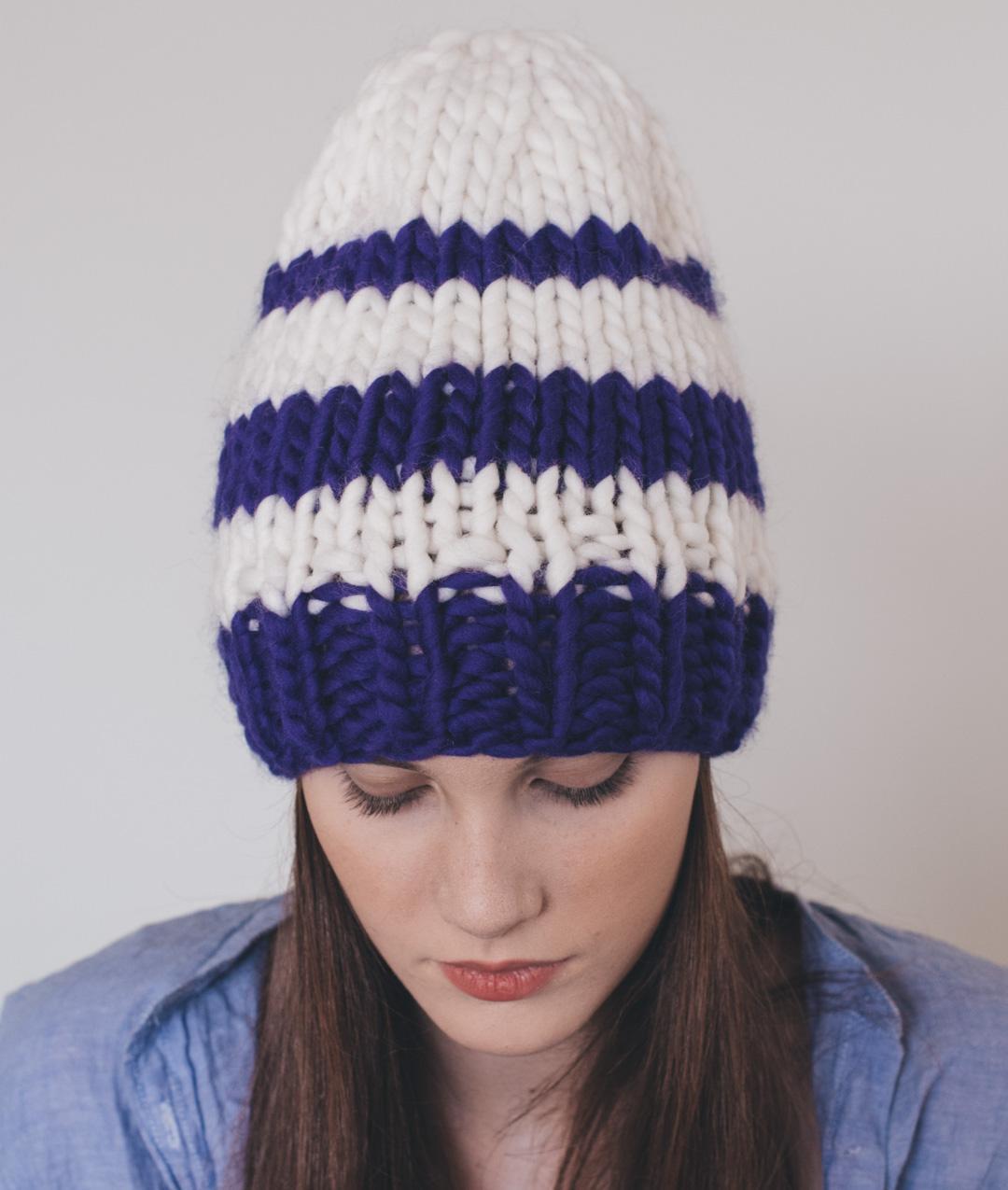 Cappelli - Lana - Striped Beanie - 1