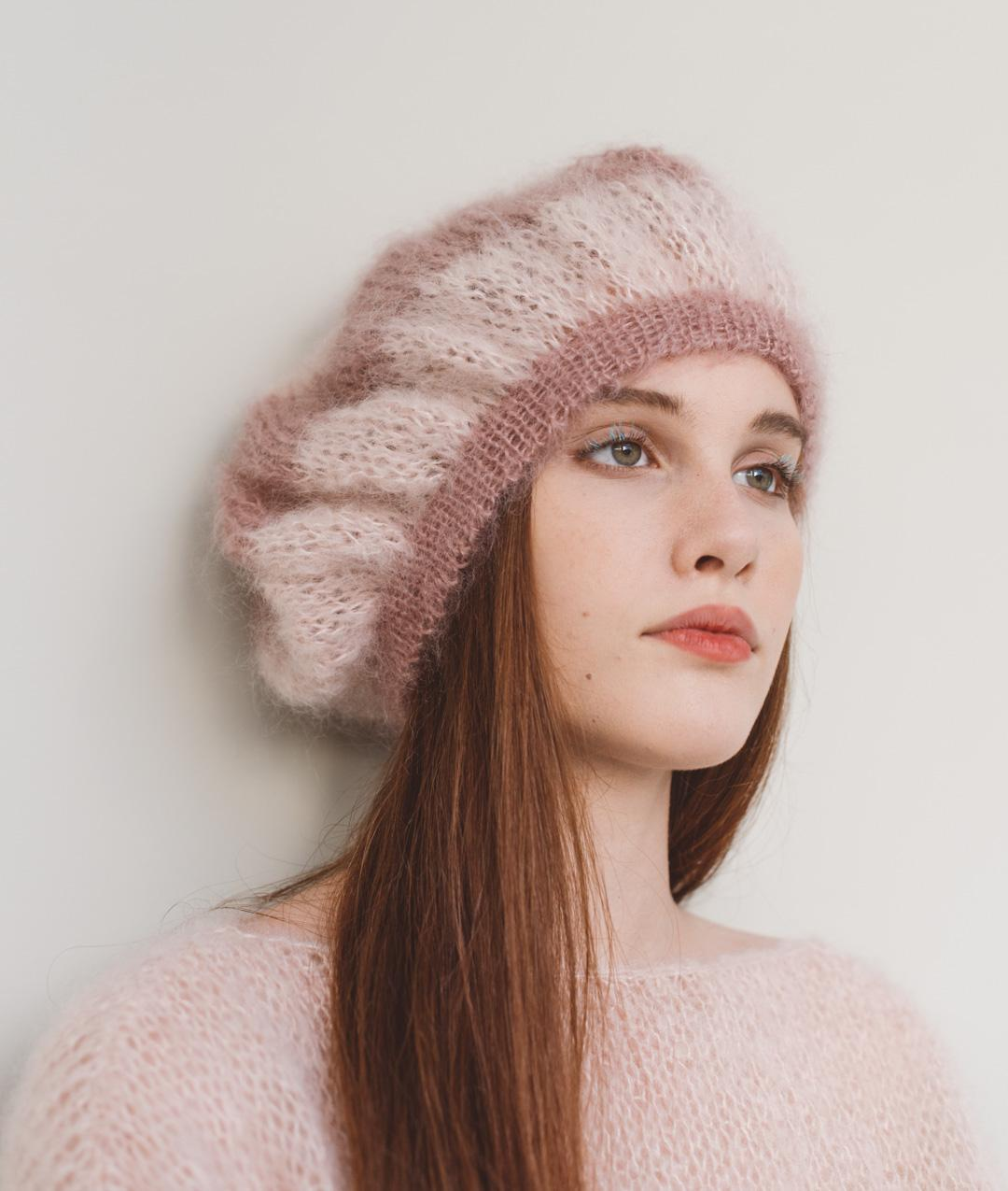 ceb034f8f0d7 Le Marais Beret  Wool Knit Kit forHats and Beanies online + Pattern ...