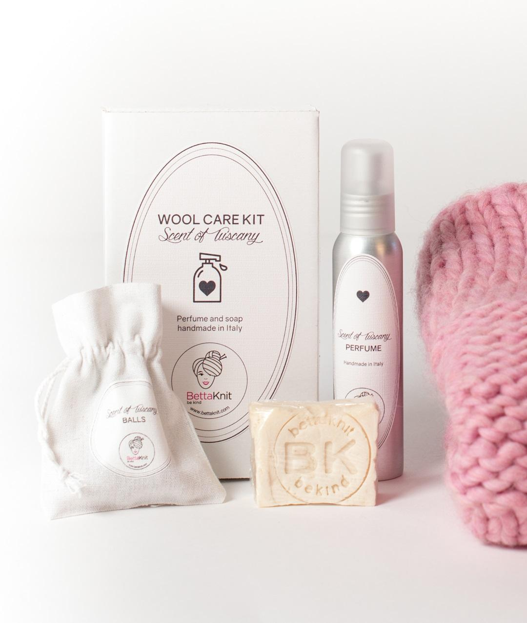 Kit Wool Care  - Scent of Tuscany - Wool Care kit - 1