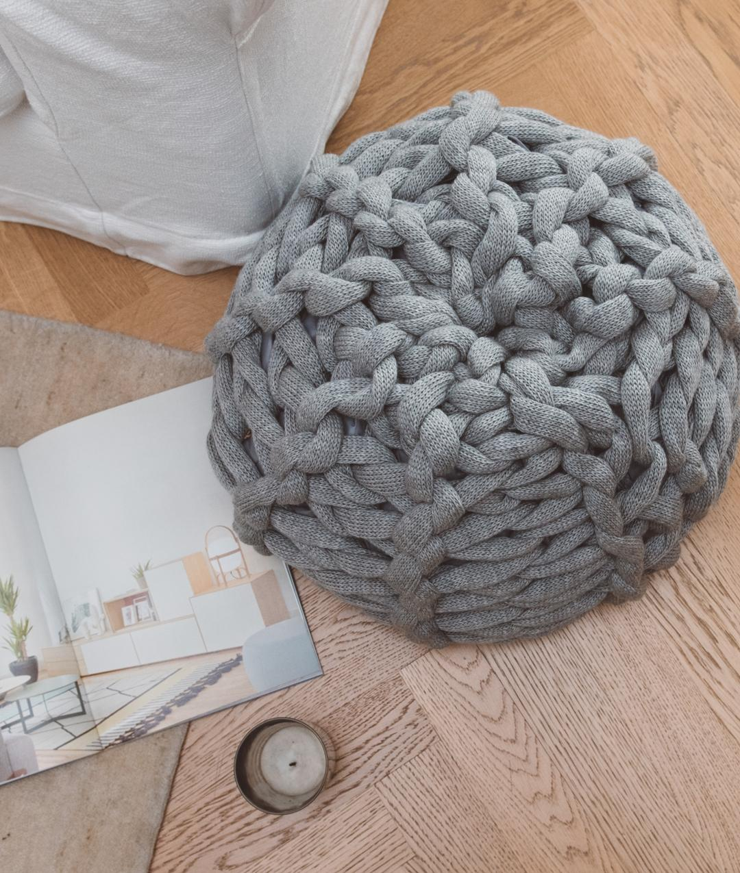 Homeware - Wool - XXL POUF - 1