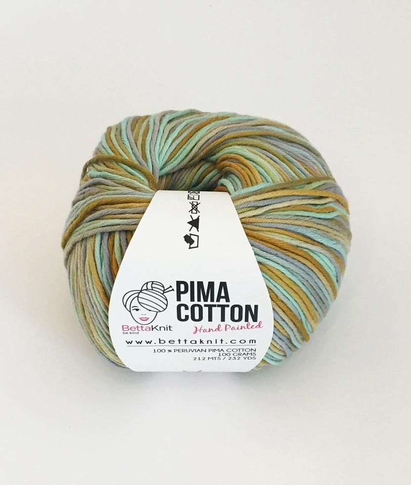 Cotone - Gomitoli - Pima Cotton - Hand Painted - 1