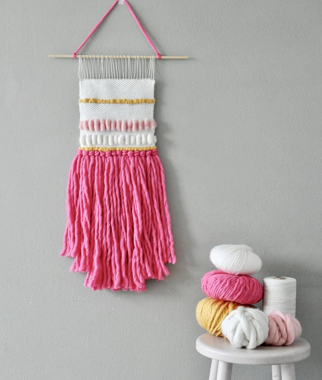 Home Decor Collection - Weaving KitS - ICE CREAM WALL HANGING - 1