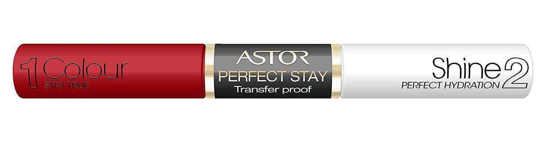 Astor, rossetto Perfect Stay, tenuta perfetta per 16 ore COLORE RED PROOF