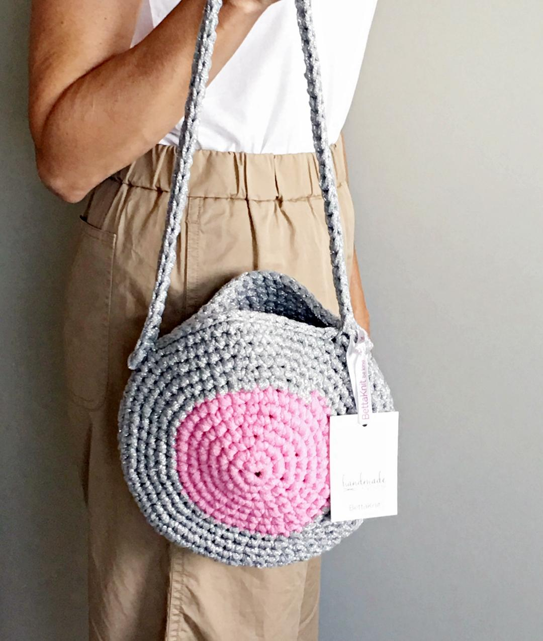 - AROUND ME BAG - Silver/Pink - 1