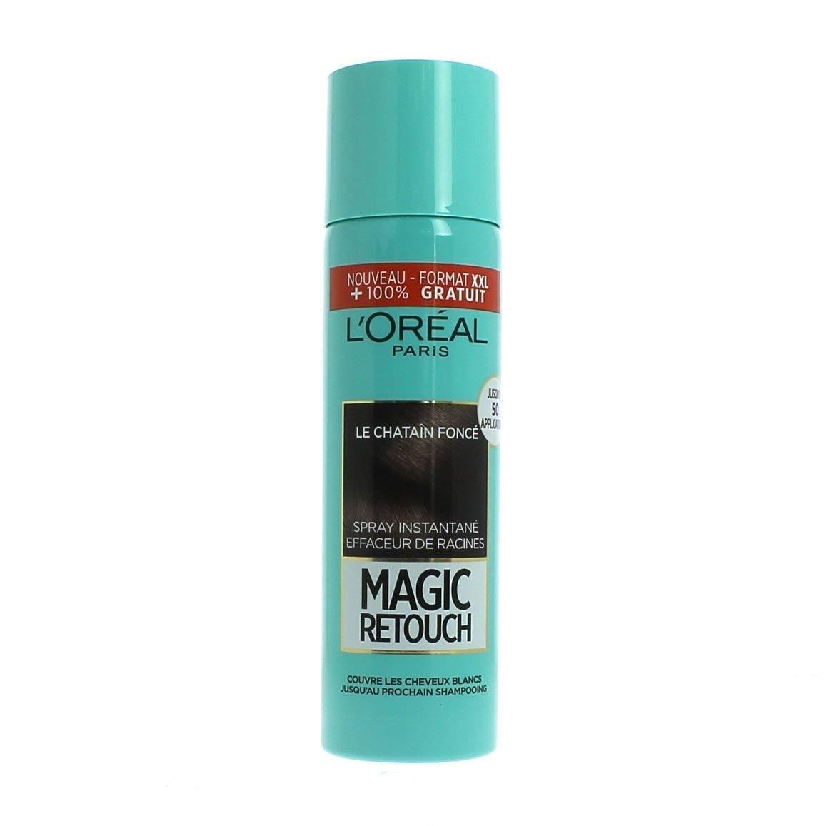MAXI FORMATO!!Magic Retouch effaceur di radice l' Oréal Paris CASTANO SCURO