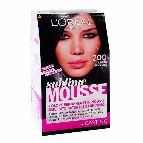 Loreal Paris - Permanent color Sublime Mousse - NERO 200