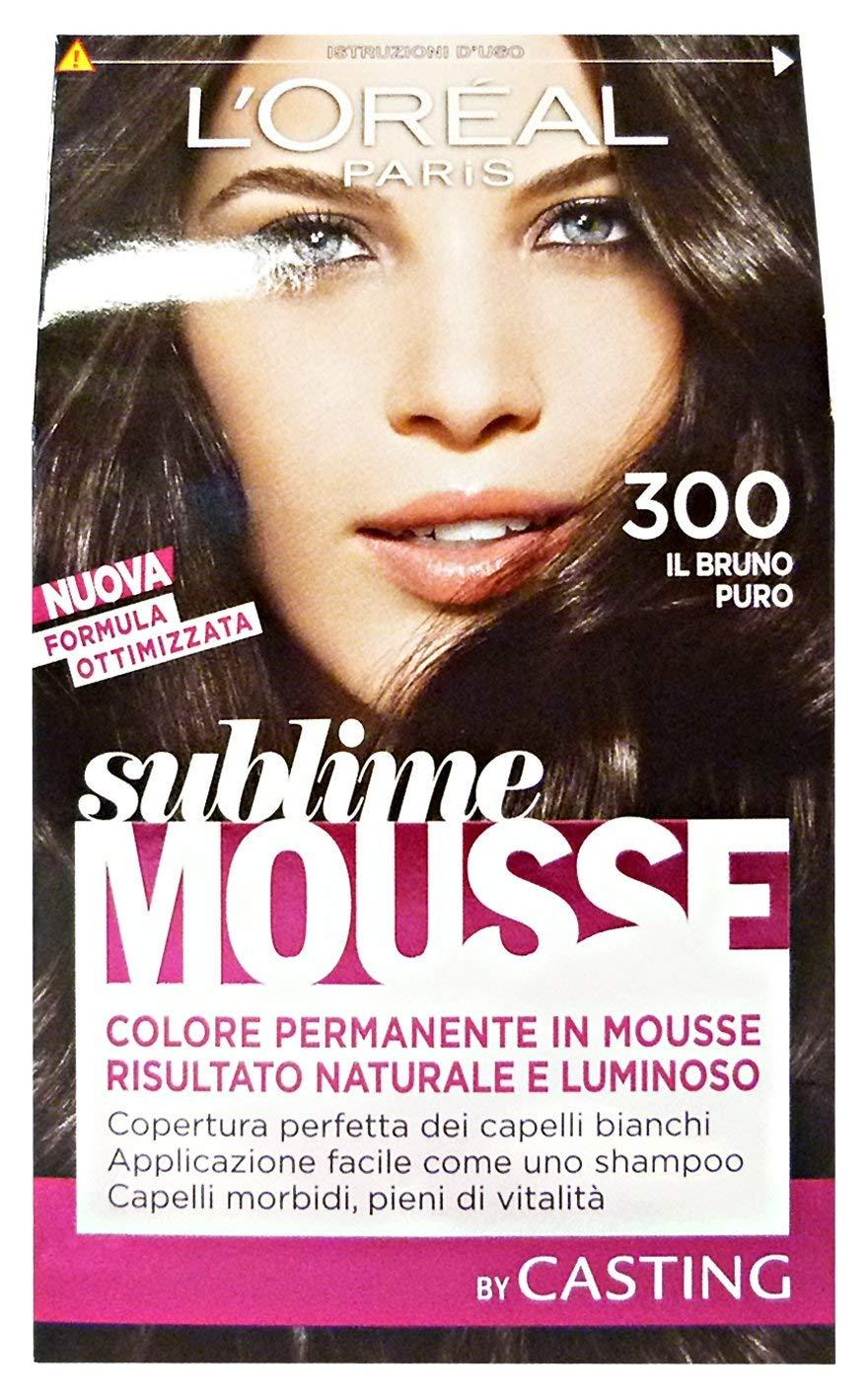 Loreal Paris - Permanent color Sublime Mousse -IL BRUNO PURO 300