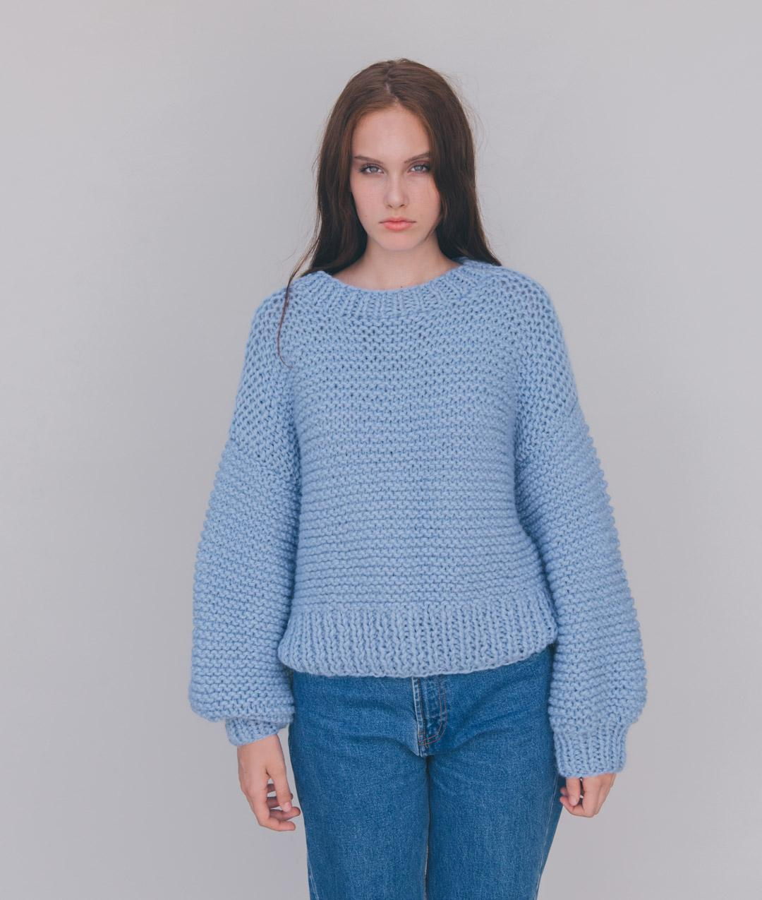 Fall / Winter 2018-19 Collection - Sweaters and Tops - SERENITY PULL - 1