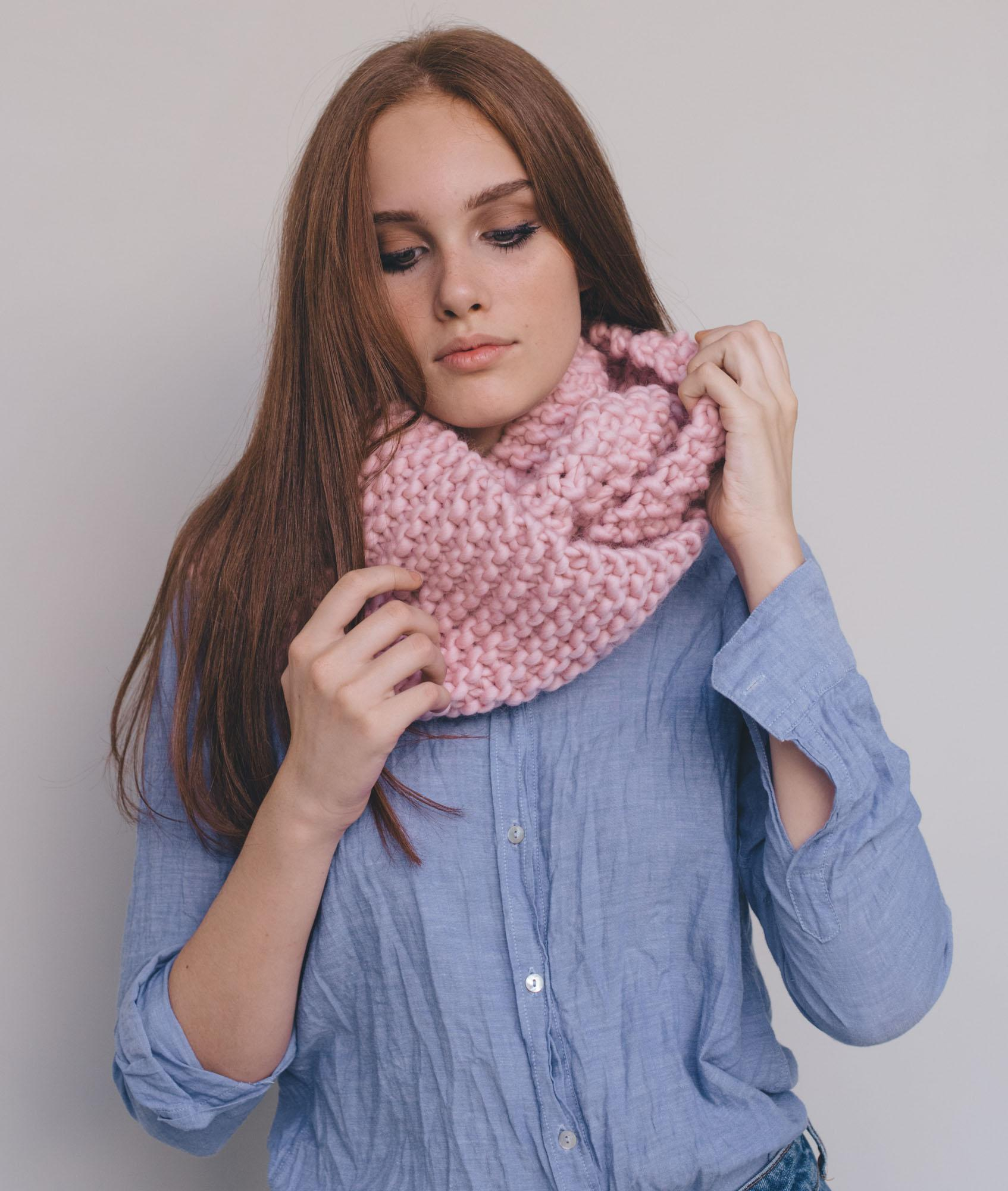 Scarves and Snoods - Wool - Elanor Snood - 1