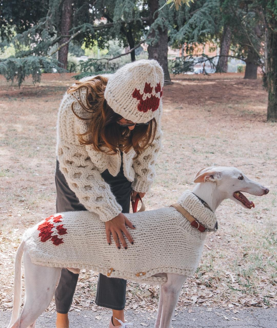- Wool - PEPE DOG COAT - 1