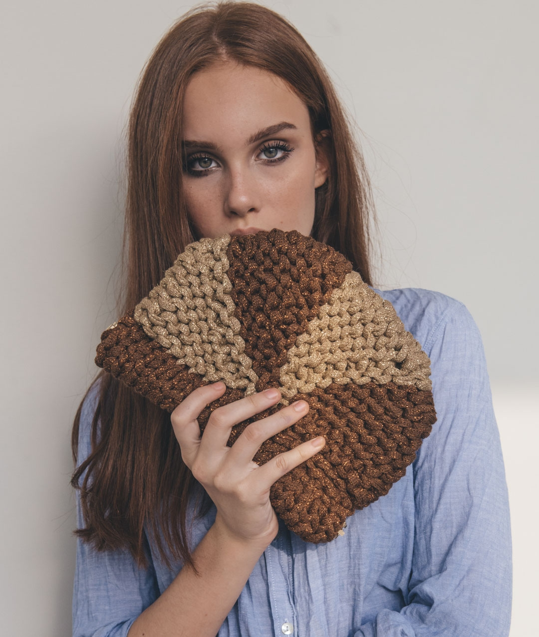 Fall / Winter 2018-19 Collection - Bags - BROWN SUGAR CLUTCH - 1