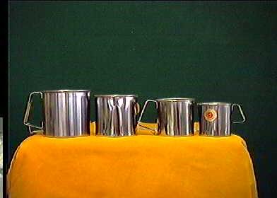 Acquista Set 6 Pignatti Simplex Acciaio 17487388   Glooke.com