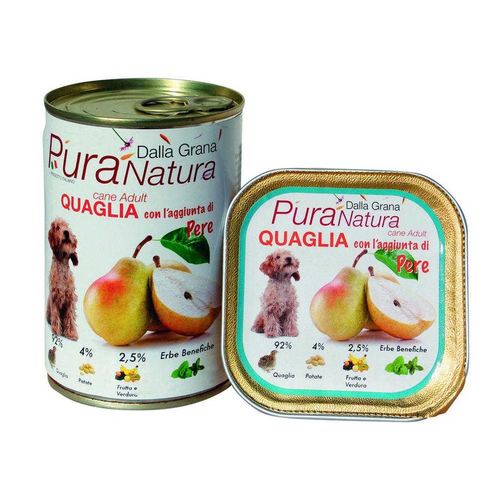 Acquista Pura Natura Quaglia Pere Grain 17492452 | Glooke.com