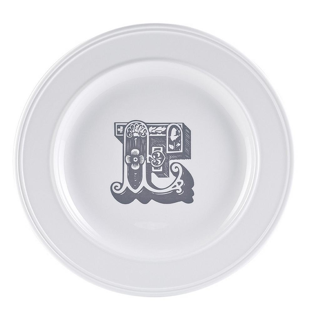 Acquista Milano Piatto Letter Dessert 22cm 17493504 | Glooke.com