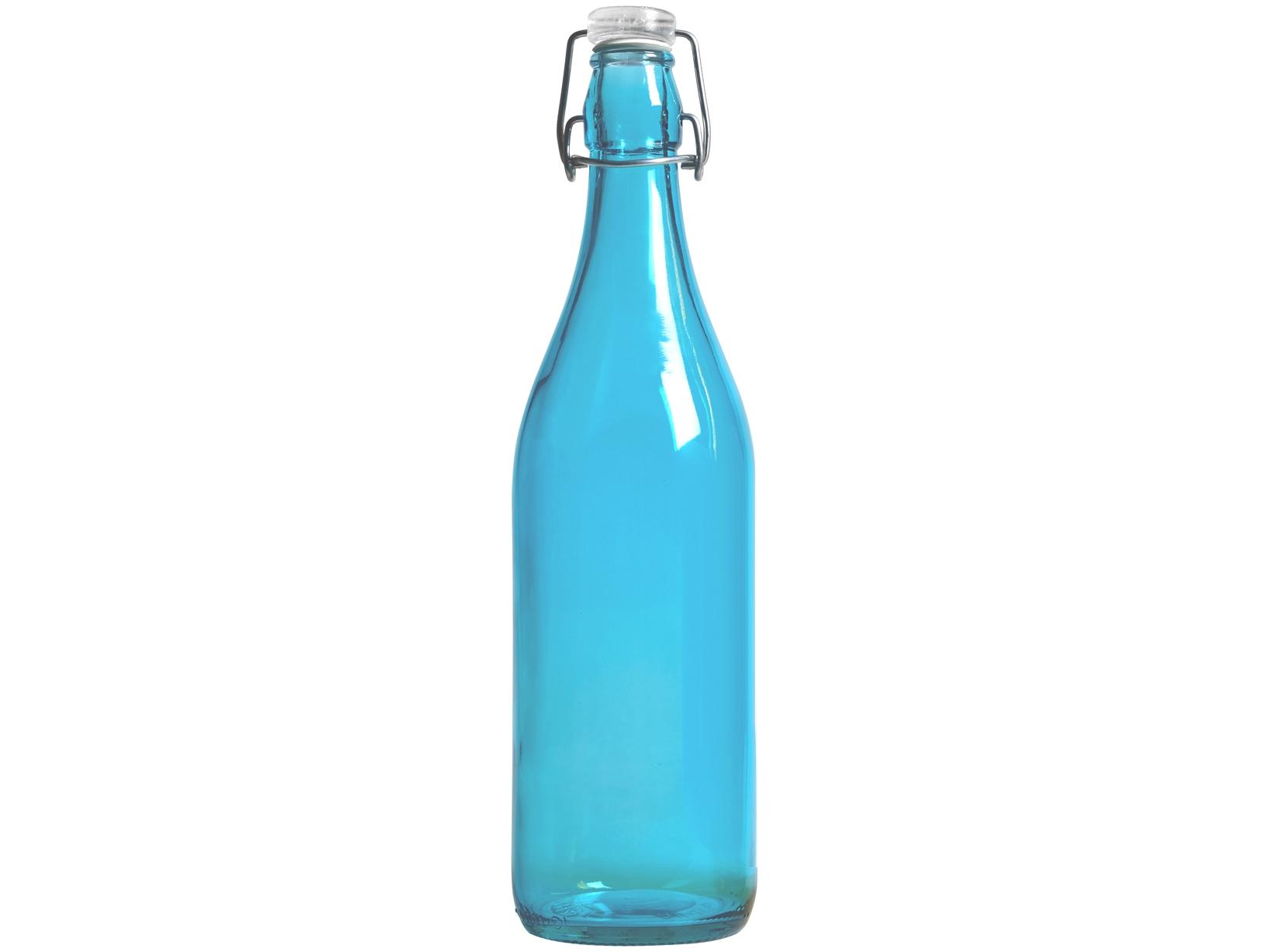 Acquista Set 6 Bottiglia Vetro Lella Colori 17505210 | Glooke.com