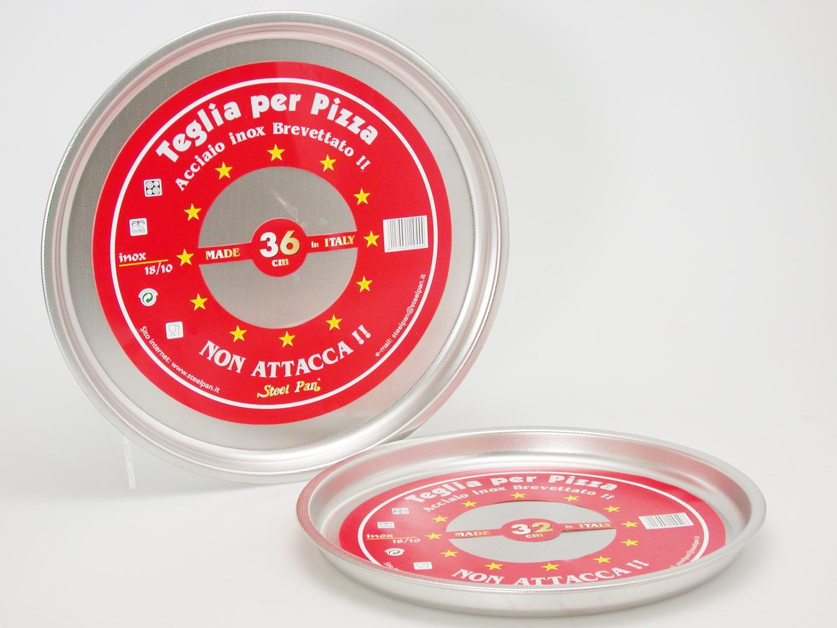 Acquista Teglia Pizza Tondo Nonstick 24 17514020   Glooke.com