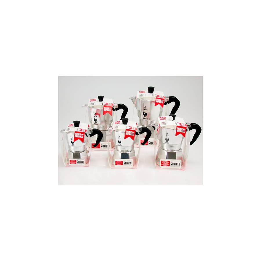 Acquista Set 6 Caffettiera Alluminio Moka 17514093 | Glooke.com