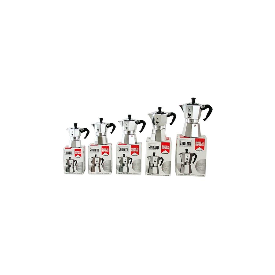 Acquista Caffettiera Alluminio Moka Tazzine 17514090 | Glooke.com