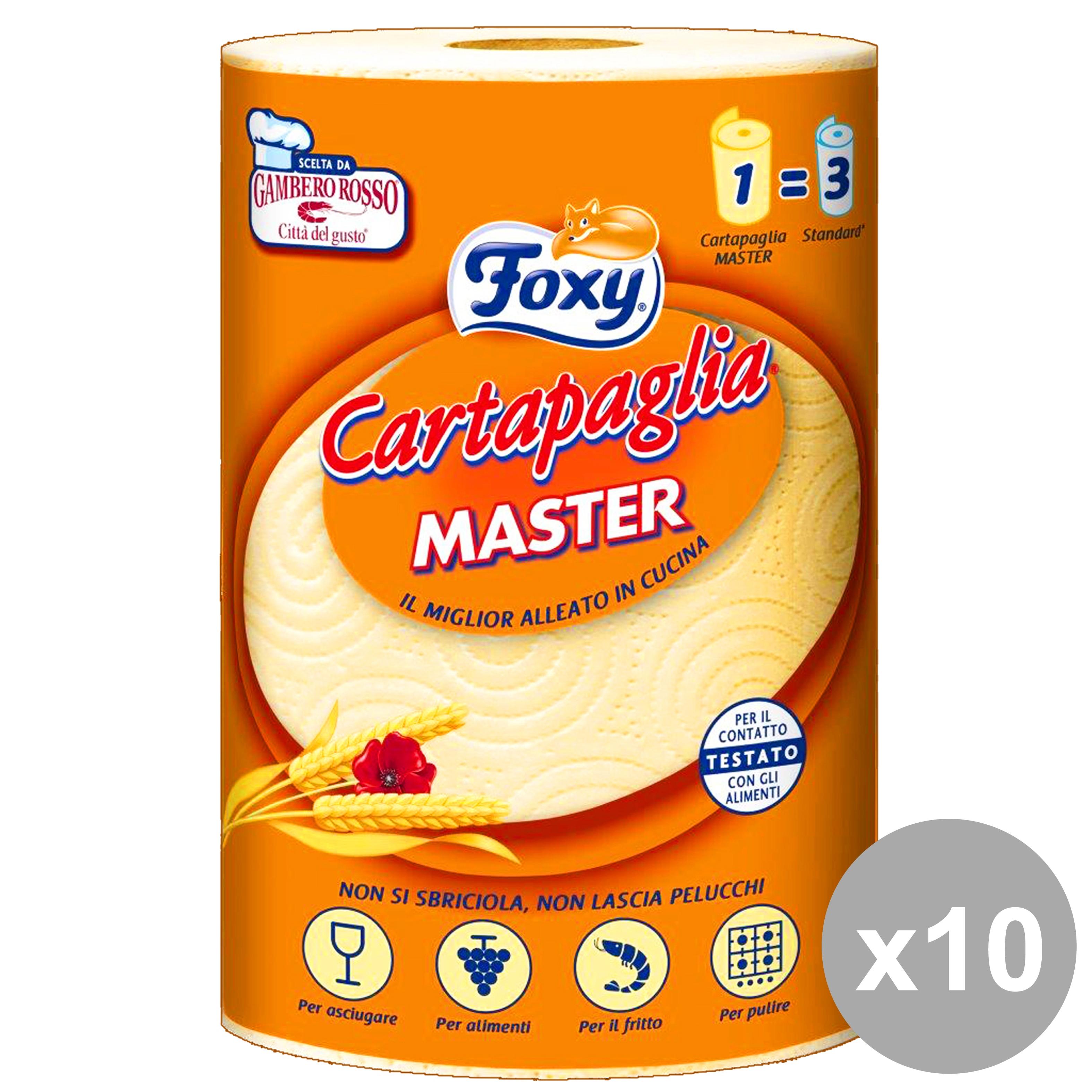 Acquista Set 10 X 1 Asciug Cartapaglia 17533707 | Glooke.com