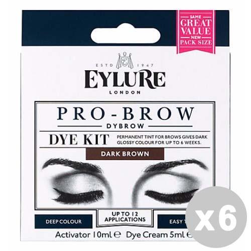 Acquista Set 6 Pro-brow Black Tinta Permanente 17544675 | Glooke.com