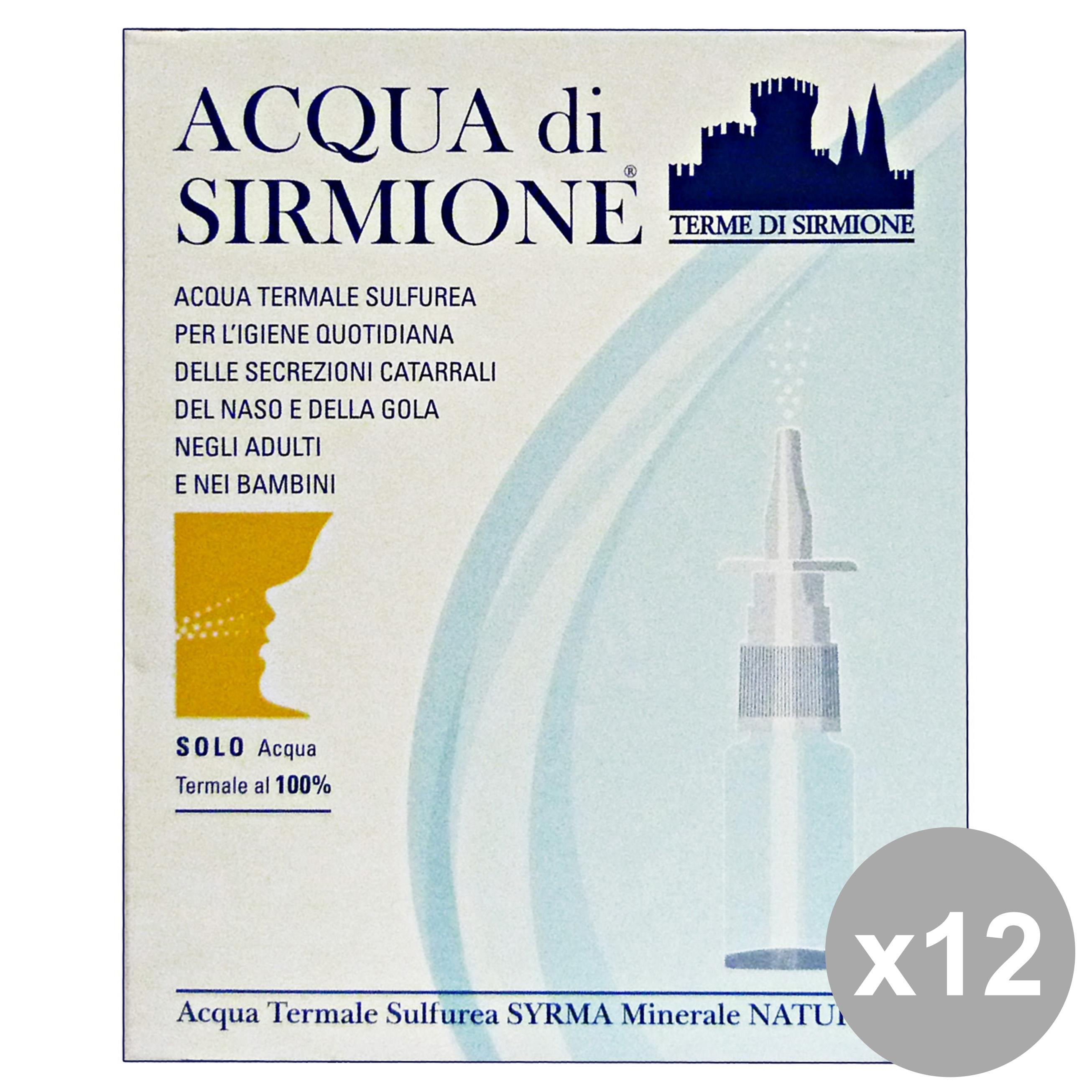 Acquista Acqua Sirmione 12 Acqua Termale 17545189   Glooke.com