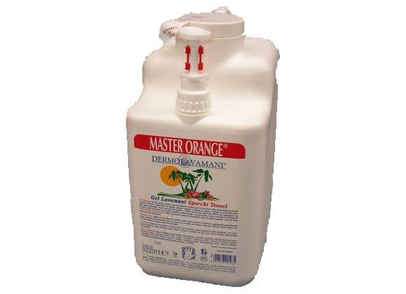 Acquista Sapone Master Orange Gel C Dosatore 17545801 | Glooke.com
