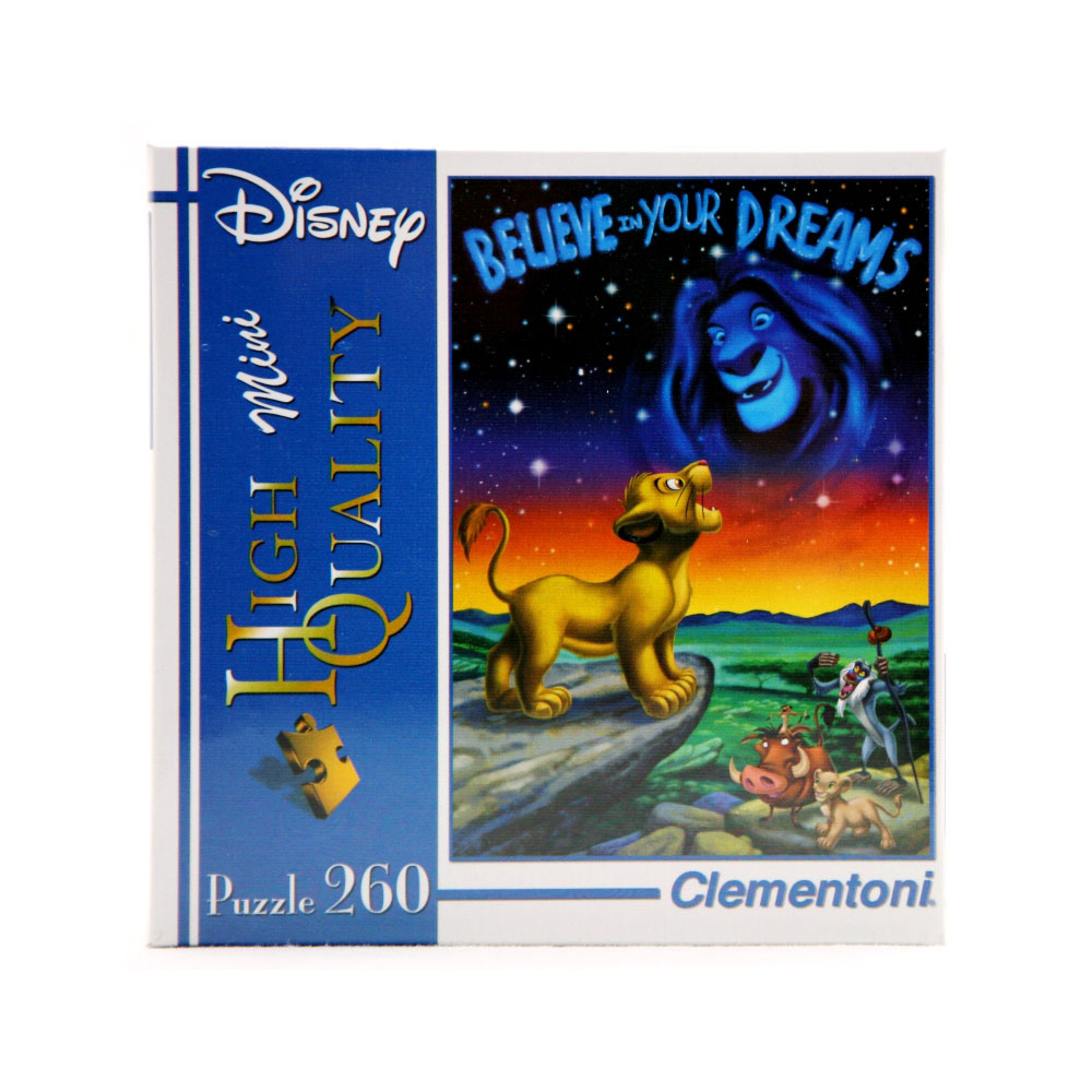 Acquista Puzzle 260 Pezzi Mini Disney Re 17564630 | Glooke.com