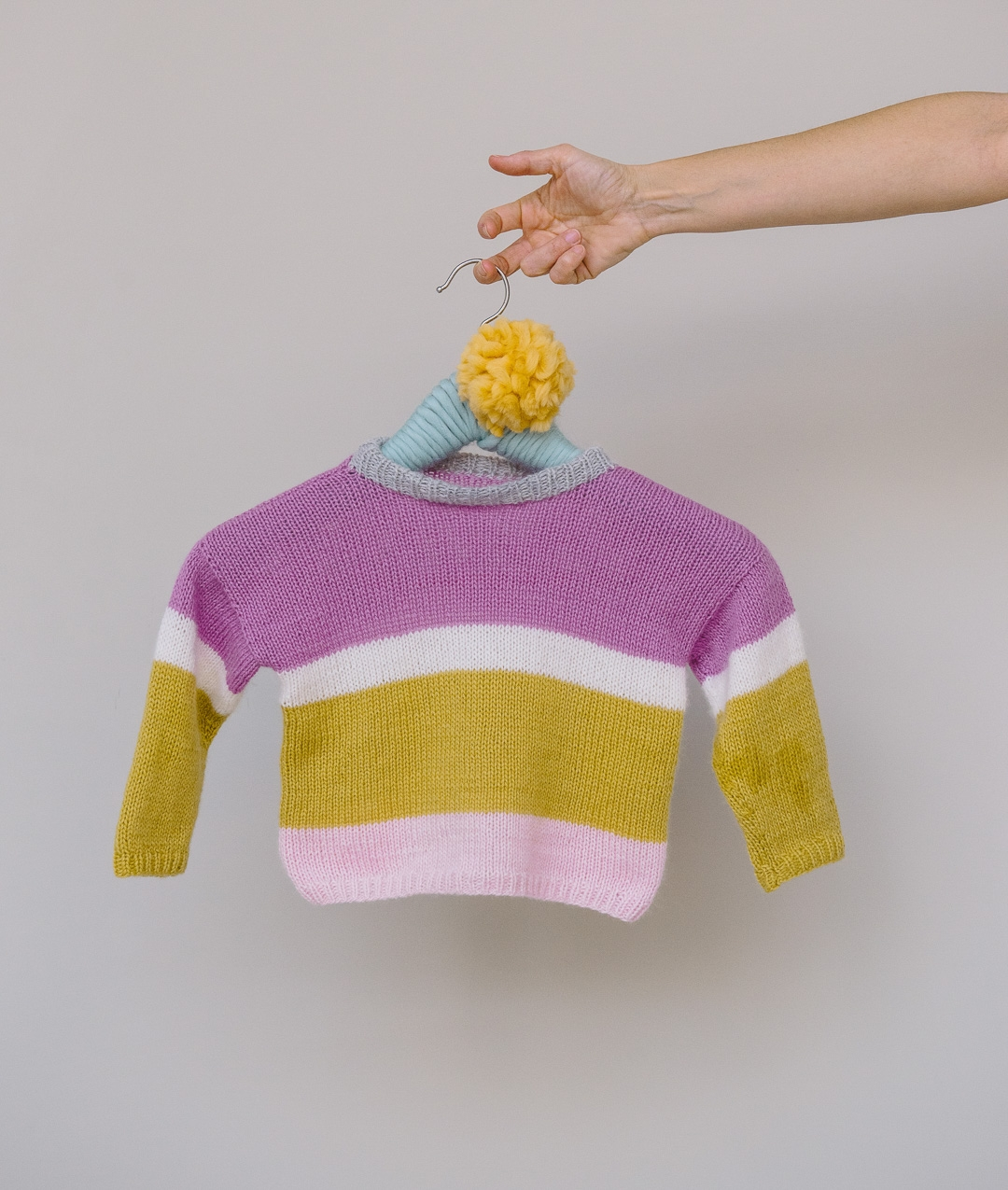 Mini Me Cashmere Collection - Sweaters and TopsBaby - Mini Me Cashmere Collection - MINI ME BABY PULL - 1