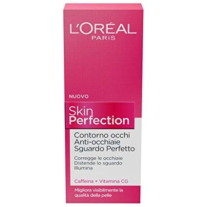 L'Oréal Paris Skin Perfection Contorno Occhi Anti-Occhiaie Sguardo Perfetto 15ml