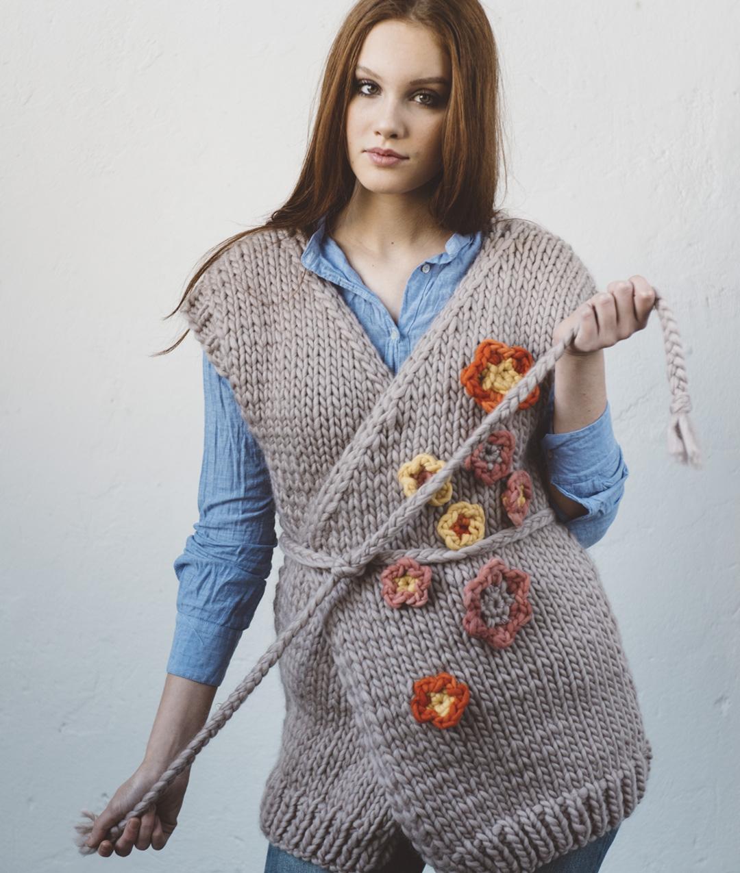 Cardigan e Gilet - Lana - Spring Vest - 1