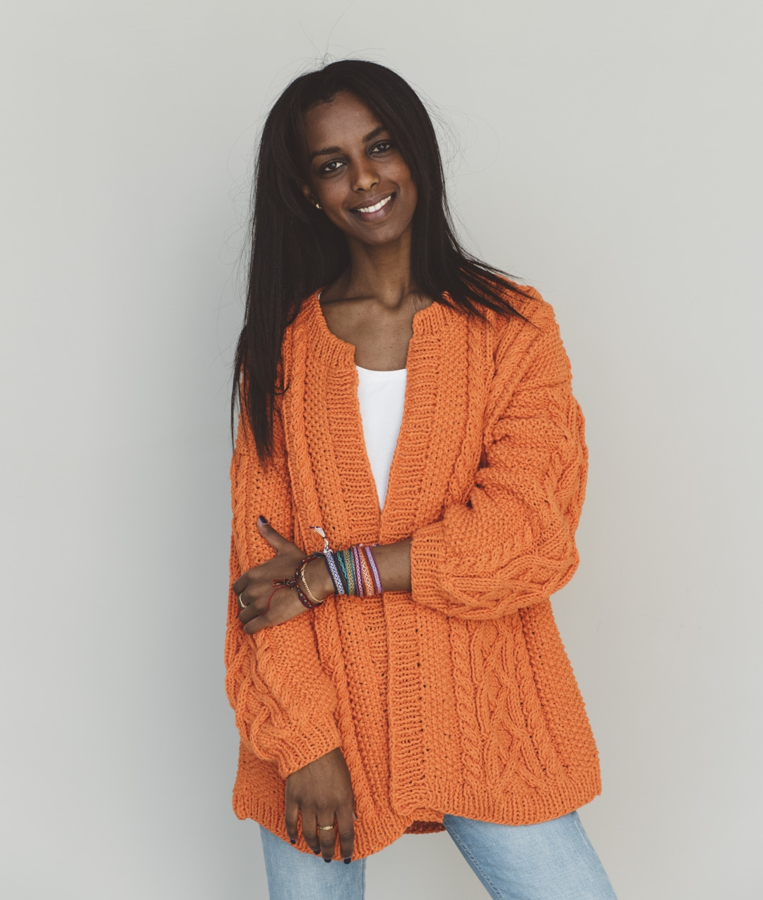 Spring / Summer 2019 Collection - Cardigans and Vests  - Debra Cardigan - 1