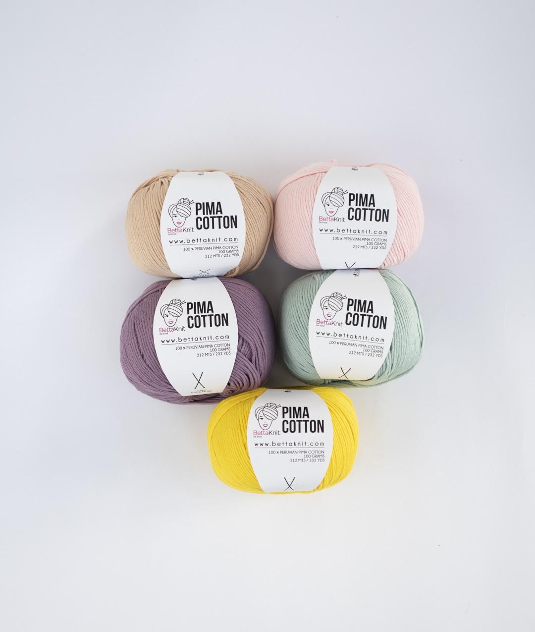 Confezioni di filato -  - Pima Cotton Pack - 5 Gomitoli - 1