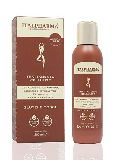 ITALPHARMA TRATTAMENTO CELLULITE, GLUTEI E COSCE 200ML