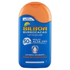 BILBOA - BURROCACAO PELLI DELICATE LATTE SOLARE SPF 50