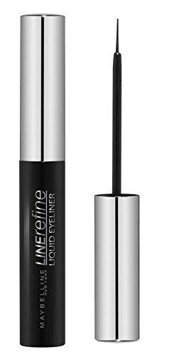 Maybelline New York Liquid Eyeliner Black/Liquido Eyeliner Nero Intenso (termine, massima precisione)