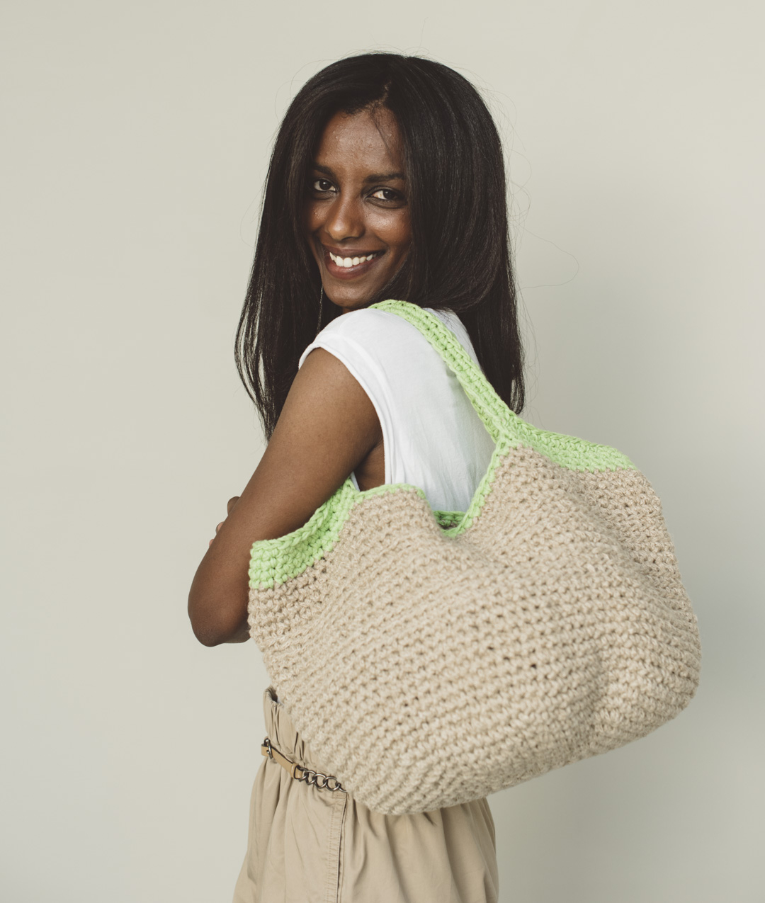 Jute - Crochet Kits - MONIQUE BAG - 1