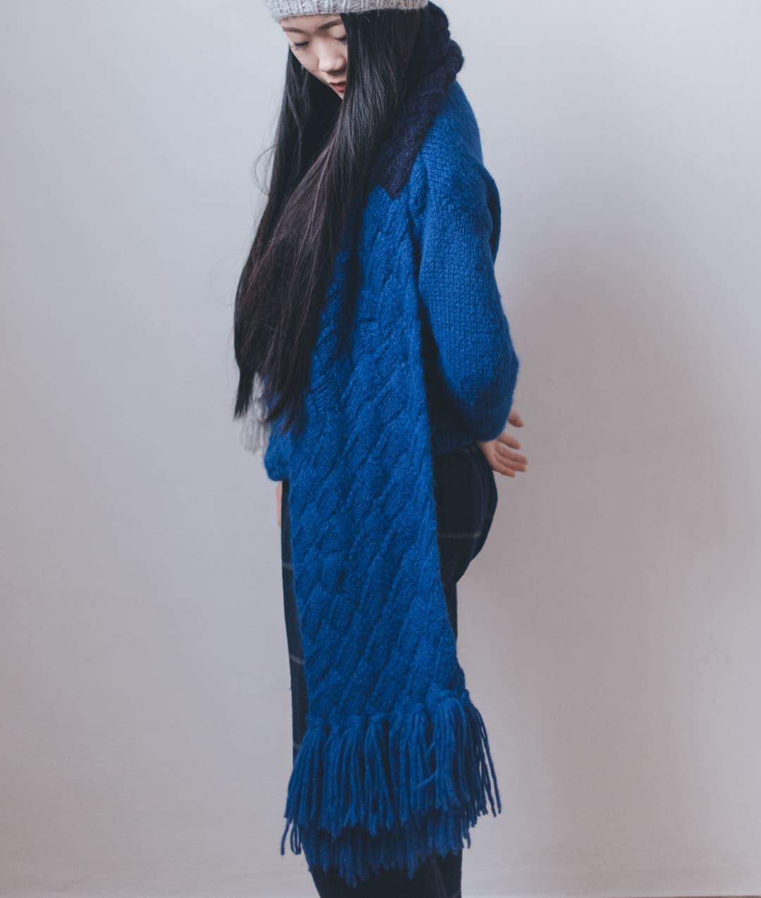 Sweaters and Tops - WoolScarves and Snoods - Wool - QUEEN SCARF - 1