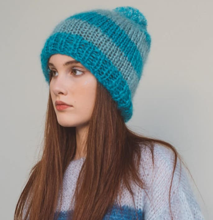 Sweaters and Tops - Wool - Hats and Beanies - Savamala Hat  - 1