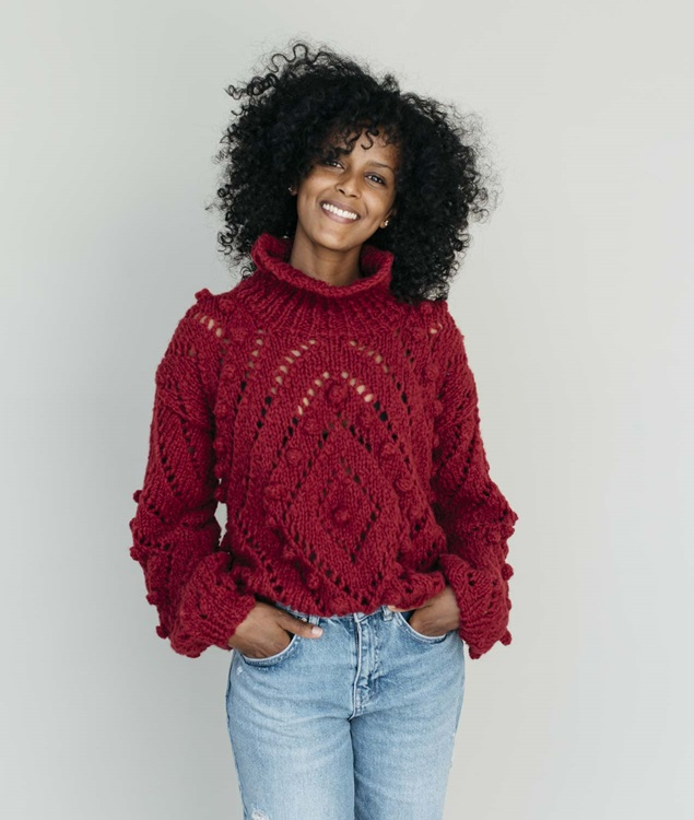 Alpaca Lightness Collection - New In - LENA PULL - 1