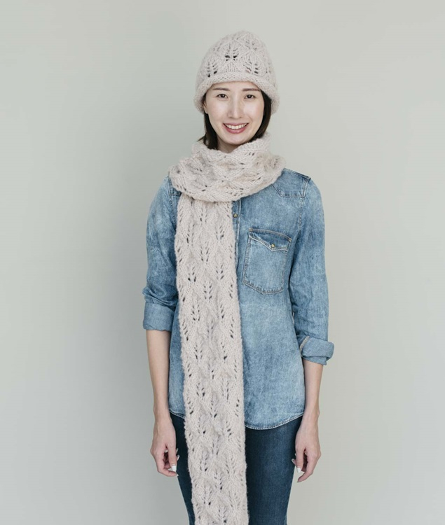 Alpaca Lightness Collection - Scarves and Snoods - TRACY SET - 1