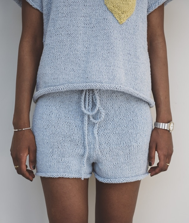 Sweaters and Tops - CottonShorts and Pants - Cotton - Central Park Shorts - 1